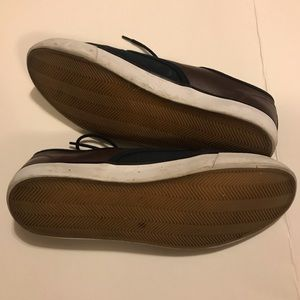 Men's [ H & M ] Casual Two Tone Sneakers